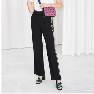 & Other Stories Racing Stripe Pant